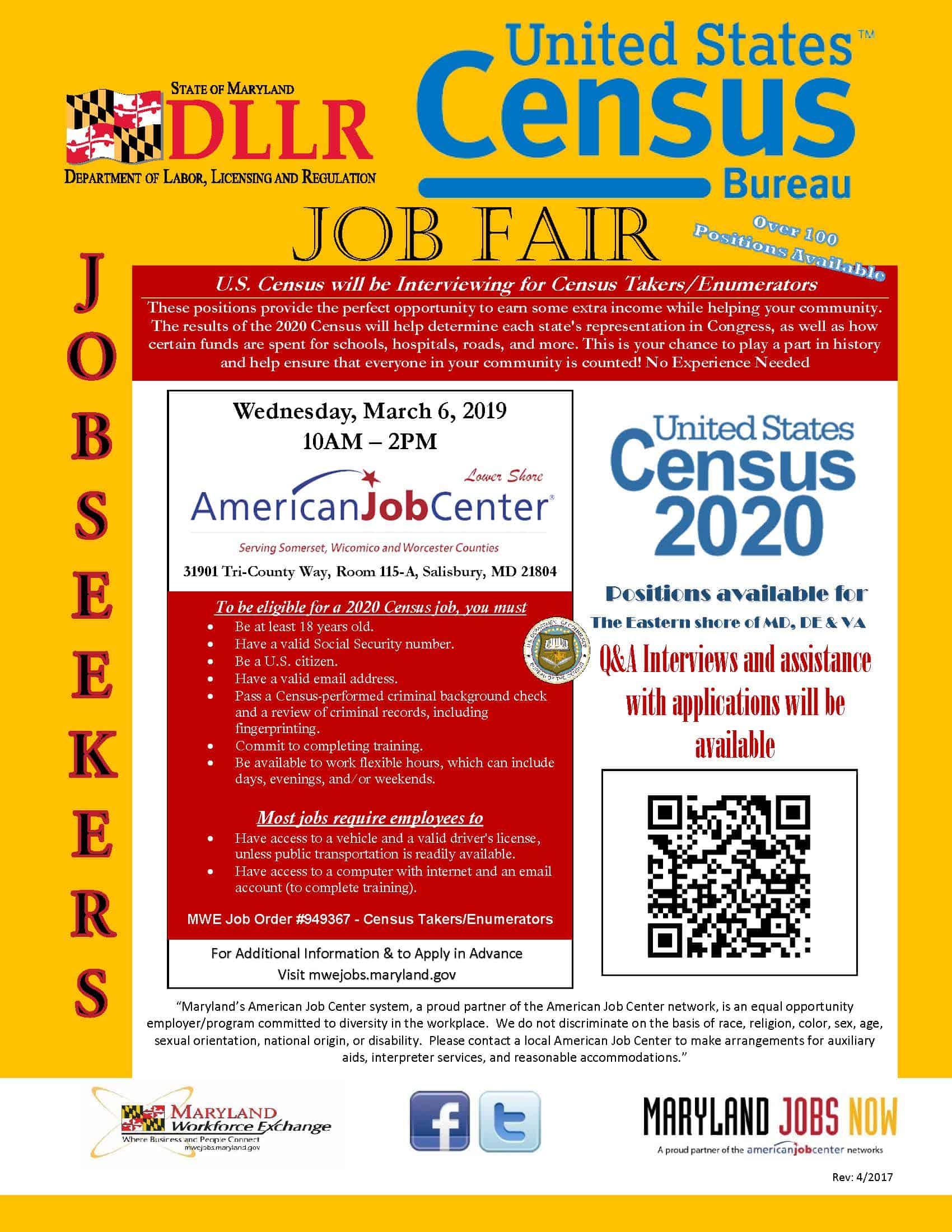 US Census Job Fair 03062019