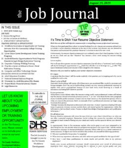 job Journal 8/19/2019
