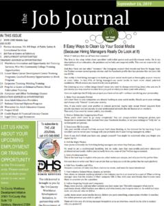 semptember 17 job journal