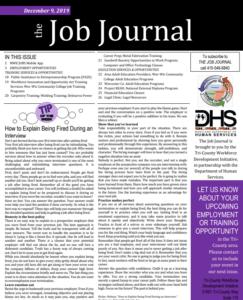 1 december job journal